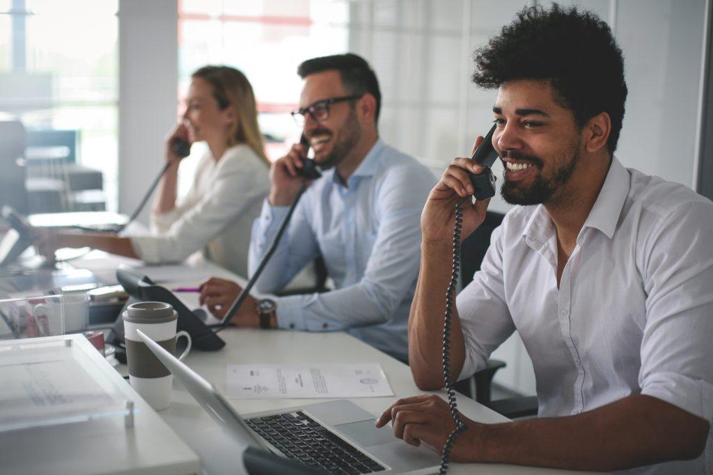 salespeople prospecting