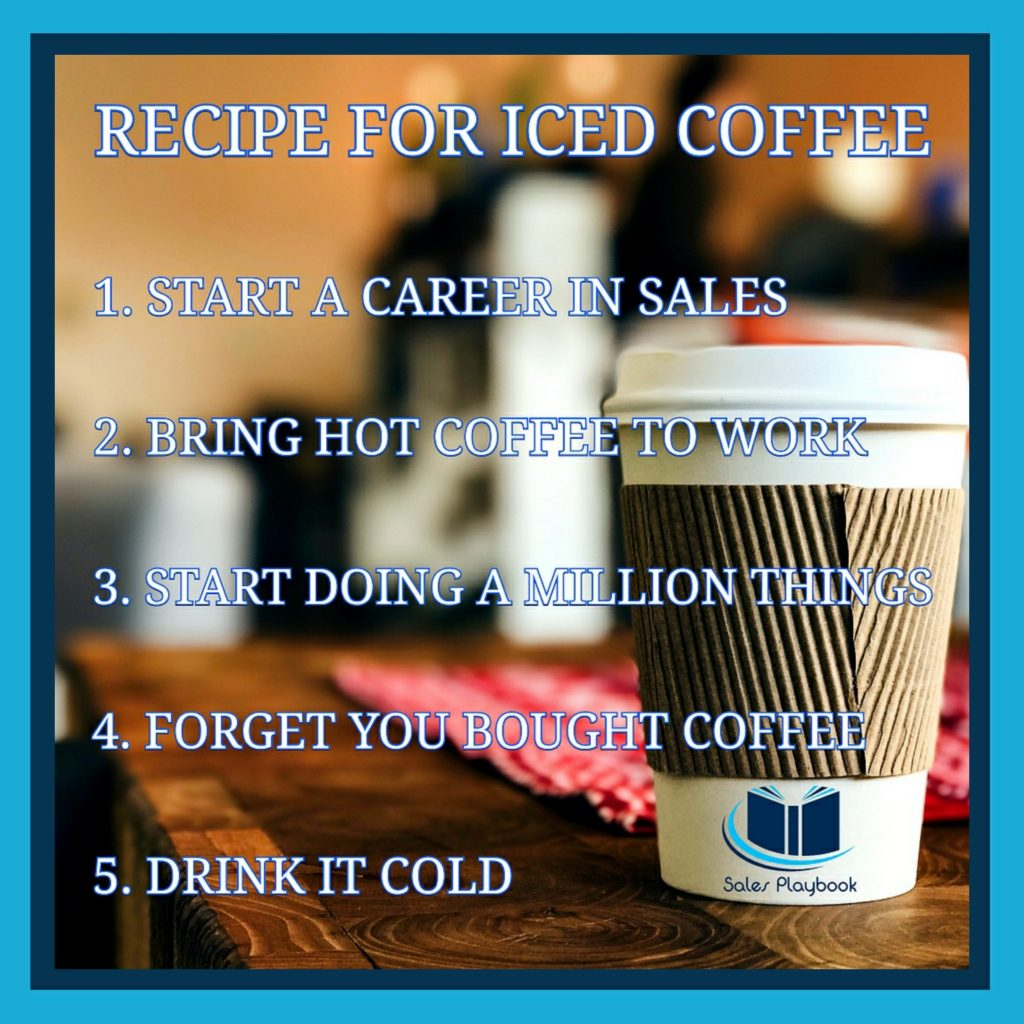 Sales meme recipe for coffee