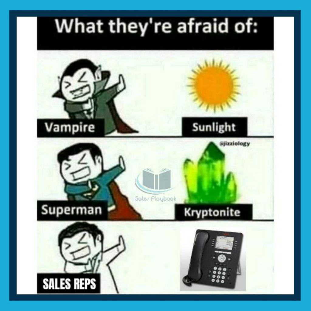 Sales meme what they're afraid of
