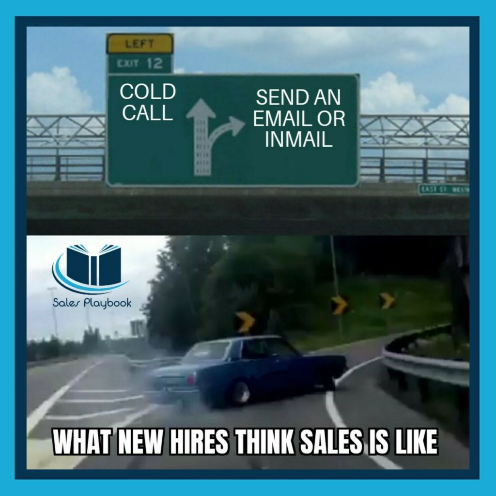 Sales meme what new hires think sales is like