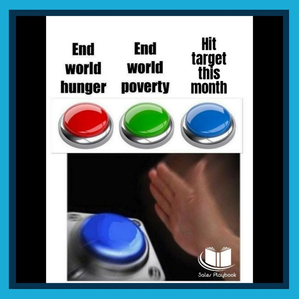 Sales meme end world hunger end world poverty hit target this month
