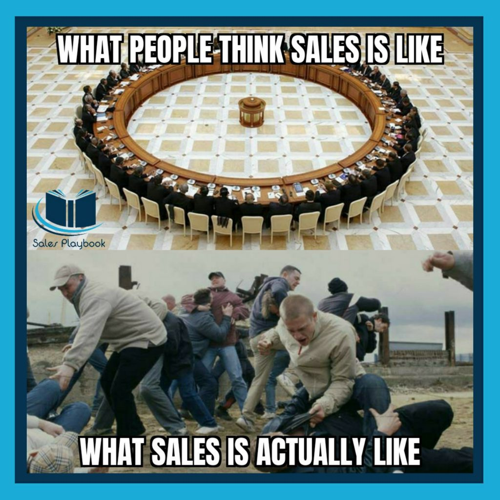 sales meme what people think sales is like what sales is actually like