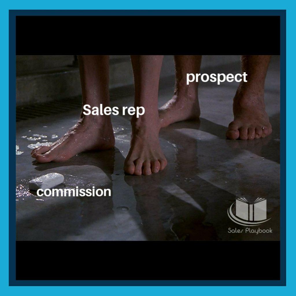 sales meme prospect sales rep commission