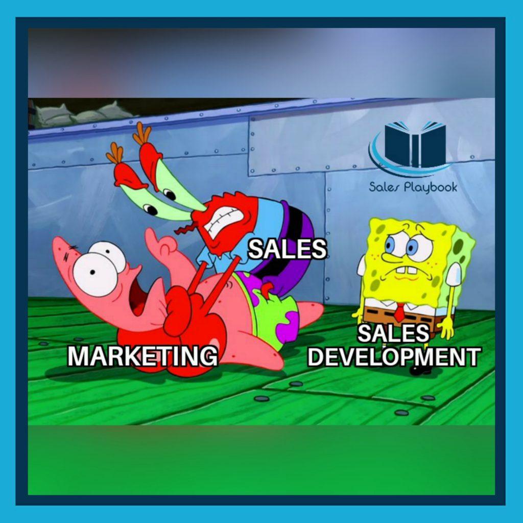 sales meme marketing sales sales development