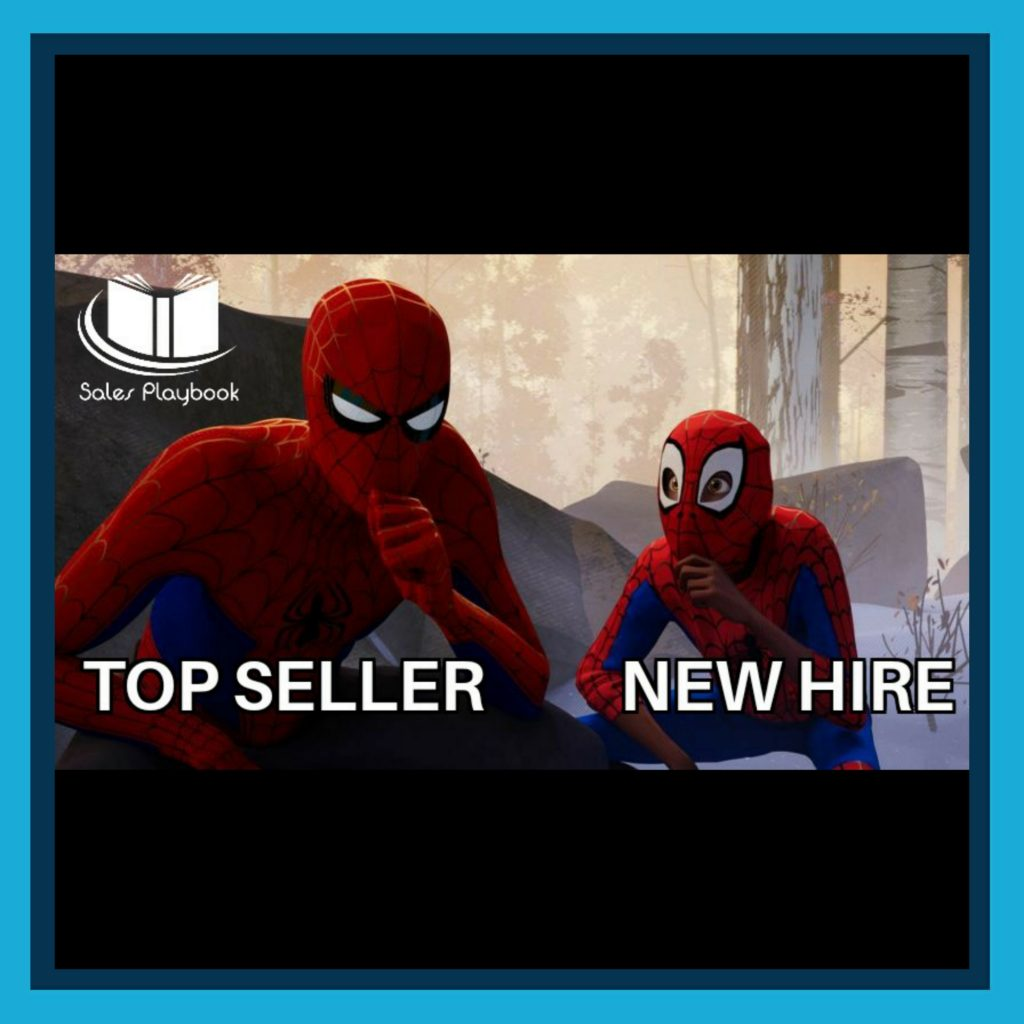 sales meme top seller new hire